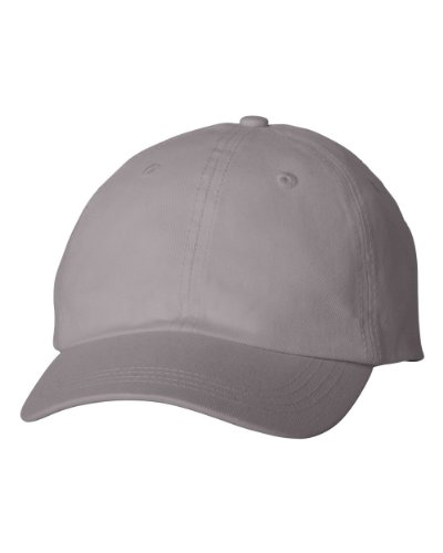 Alternative Apparel AH70 Men's Basic Chino Twill Cap Storm One Size (Cotton Chino Twill Cap)