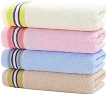 CQIANG タオル、綿タオル、強力吸収タオル、イエロー/パープルマルチカラーオプション72 * 33 Cm (Color : Multi-colored, Design : C)