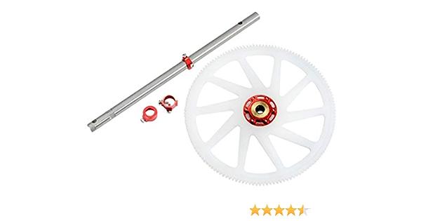 RED 230S V2 Blade 230S Microheli Aluminum//Carbon Fiber Main Frame