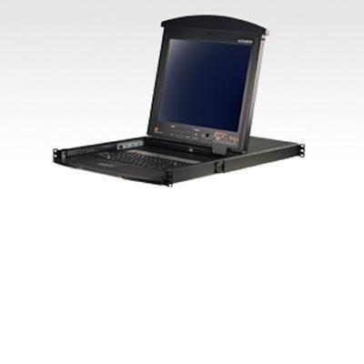17LCD 16PORT KVMp USB Port 1U with Kbrd Tchpad Per...