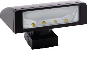 RAB Lighting WPLED52 Cool LED Wallpack, Aluminum, 52W Power, 3884 Lumens, 277V, Bronze Color by RAB Lighting