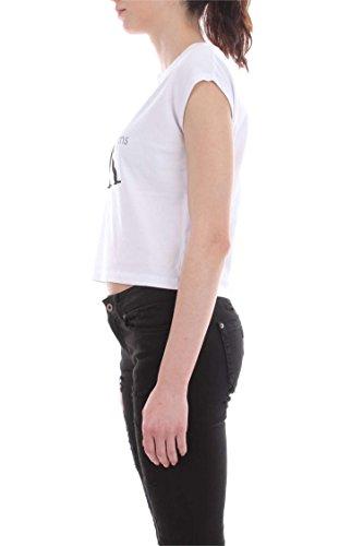 CALVIN KLEIN J20J204824 TRUE ICON T-SHIRT Mujer Bright White