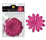 """Bazzill Paper Flowers Hot Pink Gerbera 4"""" 6/Pkg"""