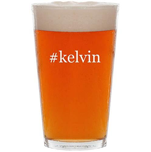 #kelvin - 16oz Hashtag Pint Beer Glass