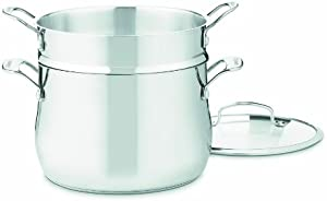 Cuisinart Contour Stainless Pasta Pot with Cover