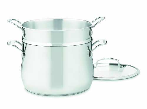 Cuisinart 44-22 Contour Stainless 6-Quart, 3-Piece Pasta Pot with ()