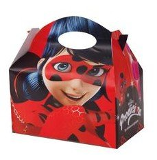 Ladybug Lady Bug-Classic Carton for Filling with decorations, Package of 12Boxes