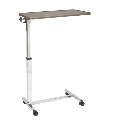Drive Medical Tilt Top Overbed Table, Walnut by Drive Medical (Image #4)