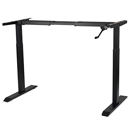 Manual Stand Desk Frame Workstation
