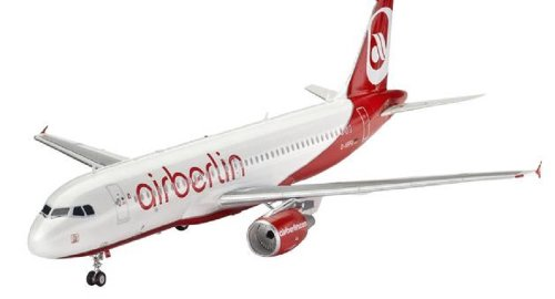 A320 Model (Revell of Germany Airbus A320 Air Berlin Plastic Airplane Model Building Kits)