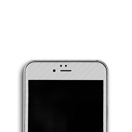 AppSkins Vorderseite iPhone 6s PLUS Carbon white