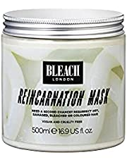 BLEACH LONDON Reincarnation Mask XL - Nutrient Rich, Repairs, & Hydrates Dry, Damaged, Bleached or Colored Hair, Deep Conditioning,Vegan, Cruelty Free, 16.9 fl oz