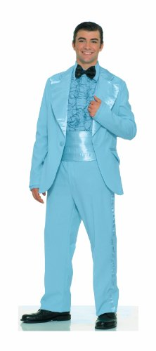 Forum Novelties Men's Fabulous 50's Prom King Costume, Blue, Standard