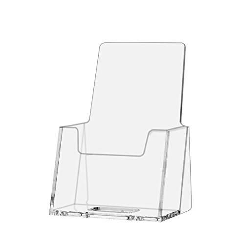 Marketing Holders Vertical Business Card Holder Counter Table Top Clear Premium Acrylic (6)
