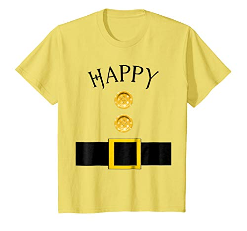 Kids Cute Happy Halloween Group Costume T Shirt