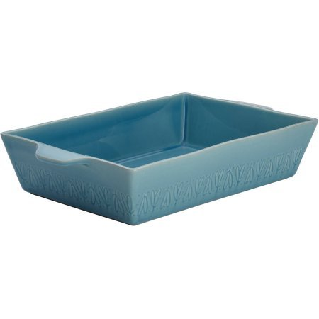 Ayesha Curry Home Collection Stoneware Rectangular Baker, 9