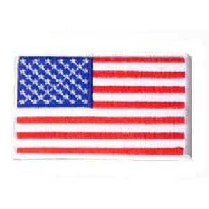 amazoncom usa military american embroidered flag patch