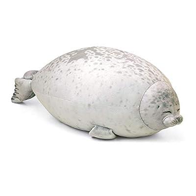 MOGOI Chubby Blob Seal Pillow, Ultra Soft Hug Plush Pillow Kawaii Stuffed Cotton Animal Plush Toy Gift for Kids and Adults,5: Home & Kitchen