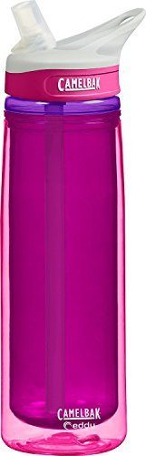 Camelbak Water Bottle. This Insulated Reusable, Personalized, Bpa Free Beverage Plastic Containers With Straw. Best For Sports As Bike & Running For Kids & Adults. Cute School Waterbottle. Eddy 0.6L.