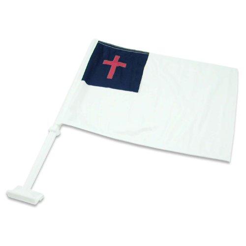 US Flag Store Christian Car - Window Christian