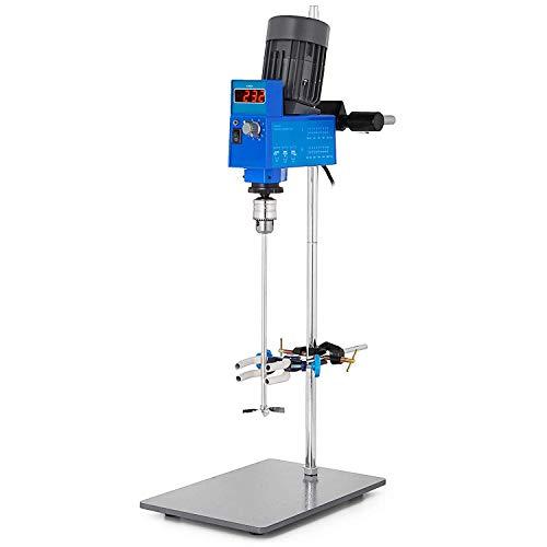 Mophorn 20L Electric Overhead Stirrer Mixer 2000RPM Digital Overhead Stirrer Mixer 200W Lab Mixer Blender Variable Speed Electric Overhead Mixer