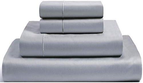 Casa Platino juego de sábanas de 1000 hilos 100% algodón egipcio ...