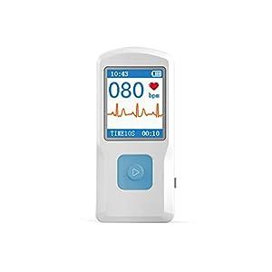 BLYL ECG/EKG Monitor electrocardiographe conectable con USB/Bluetooth 5