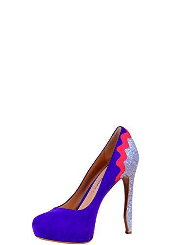 32853923086 Talons Chaussures KIRKWOOD Velours À NICHOLAS Multicolore Femme Opg8WCq
