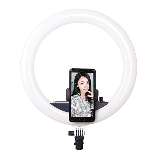 Ring light 14 Inch 240 Led Dimmable 3200k-5500k with Bracket Professional Makeup Lamp Video Shooting Fill Light Nail Art Eyebrow Studio Self-Timer