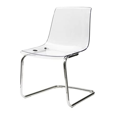 Beautiful IKEA TOBIAS   Chair, Transparent, Chrome Plated