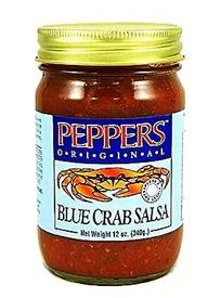 Peppers Original Blue Crab Salsa - Peppers Blue Crab