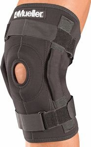 BULK PRO-LEVEL HINGED KNEE BRACE DELUXE - - Knee Deluxe Hinged Brace