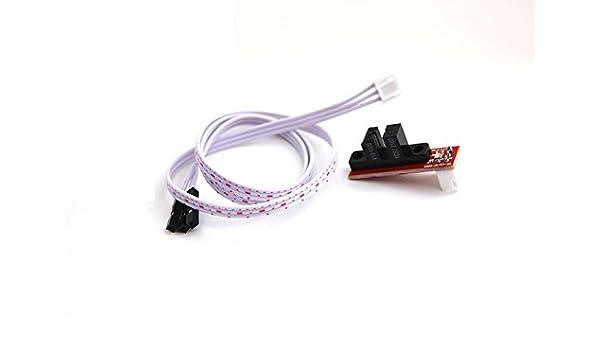 Final de carrera óptico con conjunto de cables de 3 polos, 50 cm ...