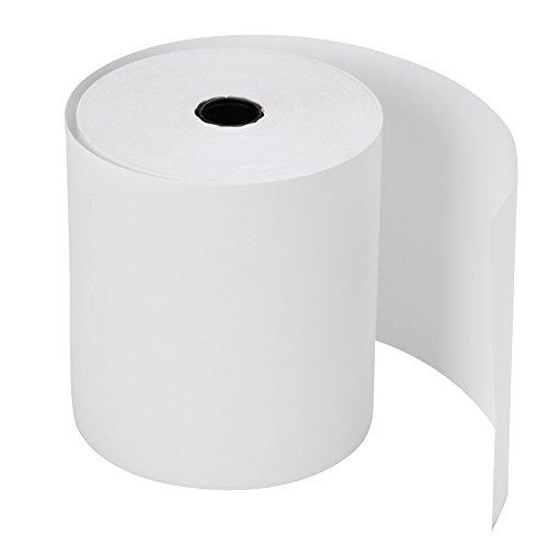 MFLABEL 2 1/4'' x 50' Thermal Paper Cash Register POS Receipt Paper (50 Rolls) by MFLABEL (Image #2)