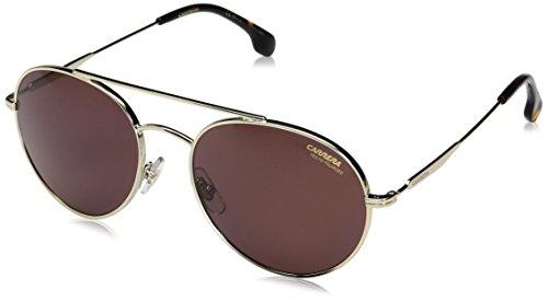 Carrera Men's Ca131s Aviator Sunglasses, Gold Havana/Burgundy Polarized, 56 - Carrera Polarized Sunglasses Are