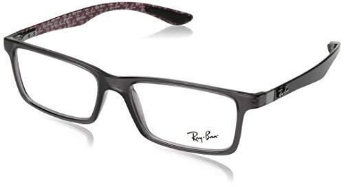9a8c67bb7f Amazon.com  Ray-Ban RX8901-5843 Eyeglasses BLACK 53mm  Clothing