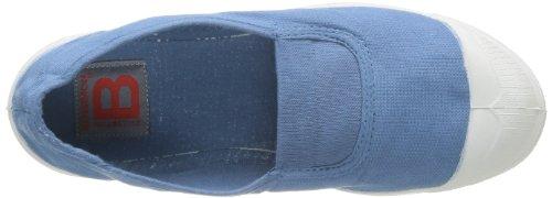 Bensimon Tennis Elastique, Damen Sneaker Blau - Bleu (Denim 563)