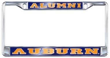 AU Auburn University Alumni Chrome License Plate Tag Frame ()