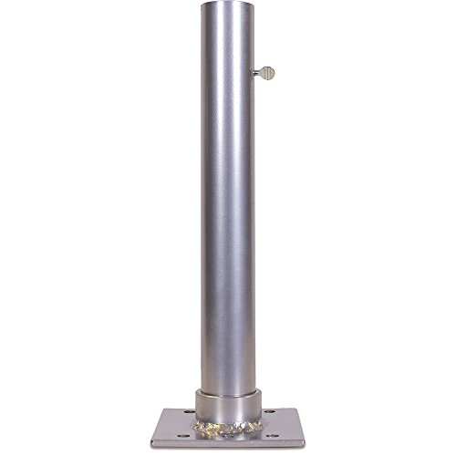 Vertical Mounting Base - Flagpole-To-Go Flagpole Deck/Dock Mount