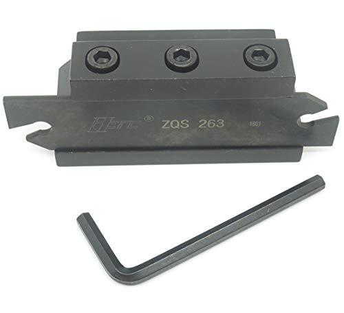 ZQS263 SPB26-3 SPB326 Grooving Parting Blade Plate SMBB2026 Cut Off Block Tool Holder ()