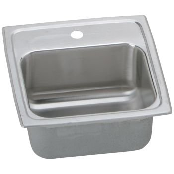 "Sink, 15"" x 15"" x 6.125"", Stainless Steel - Elkay BLR1560MR2"