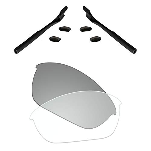 - Premium Polarized Replacement Lenses & Rubber Kits Compatible with Oakley Half Jacket 2.0 OO9144 Sunglass - HD Photochromic Transition