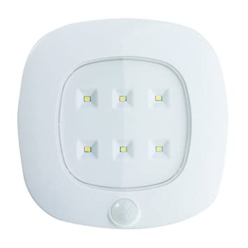 Light it by fulcrum 30028 308 6 led wireless motion sensor light it by fulcrum 30028 308 6 led wireless motion sensor ceiling light with mozeypictures Gallery