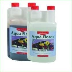 Canna fertiliser Aqua Flores A &B 2 x 1 Litres Flower