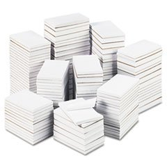 -- Bulk Scratch Pads, Unruled, 3 x 5, White, 180 100-Sheet Pads/Carton by MOT3