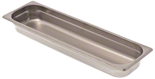Browne (22242L) 2 1/2'' Half-Long Size Heavy-Duty Steam Table Pan by Browne Foodservice