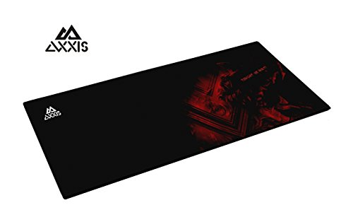 Control-Type Gaming Mousepad india 2020 (Black/Red)