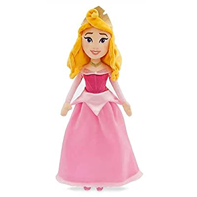 Official Disney Sleeping Beauty Aurora Pink Soft Plush Toy Doll 43cm: Toys & Games