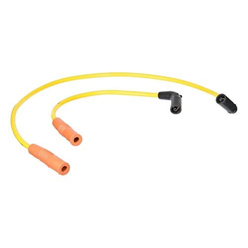 (ACCEL Super Stock 8MM Ferro-Spiral Core Yellow Wire Set 171111-Y)