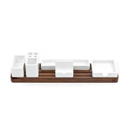Gather Modular Desk Organizer by Ugmonk | Minimalistic Wooden Desktop Sorter - Organize Your Workspace, Office Supplies, Kitchen, or Bedroom